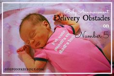 Baby Announcement – Delivery Obstacles on Number 5 #NICU #delivery #baby