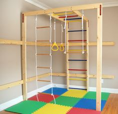 DreamGYM Indoor Jungle Gym Home Gyms - http://amzn.to/2hoGXRy