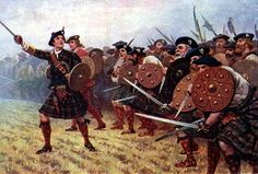 The highlanders were known for their fierce bravery in battle   http://www.janegodmanauthor.com/