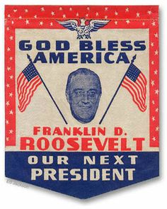1932 ELECTION - FDR Campaign Literature. | 1929 - 1933 - Herbert ...