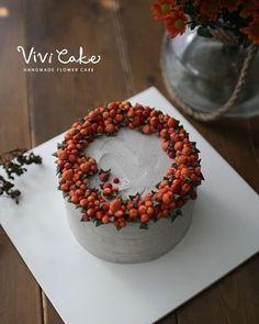 Buttercream flowercake Made by_vivicake 비비케이크 www.vivi-cake.com vivicakeclass@gmail.com . . . #플라워케이크…