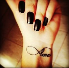 Hot Little Love Quote Tattoos for Girls - Black Love Quote Tattoos for Girls
