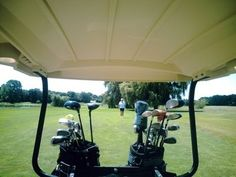 I don`t take golf carts too often, but they can be a lot of fun!