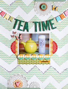 title inspiration and zigzag :: layout by Geralyn