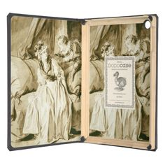 The Letter (Spanish Conversation) by Fragonard iPad Air Cases