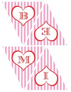 FREE Valentine's Day Printables from Green Apple Paperie