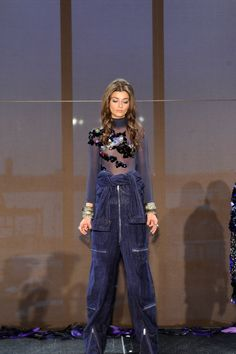 A look from 5:31 Jerome's fall/winter 2016 presentation. Photo: Arun Nevader/Getty Images