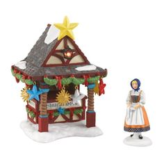 Alpine Village from Department 56 Christmas Market, Tree Topper Booth Accesssory Department 56 http://www.amazon.com/dp/B0051JJ60A/ref=cm_sw_r_pi_dp_GMaRub0MRGC37
