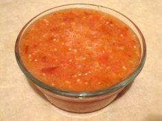 Recetas de comida mexicana: Salsa roja