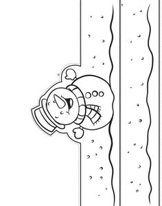 Sliding in the Snow - Winter Printable Crafts Winter Crafts For Kids, Paper Crafts For Kids, Summer Crafts, Snow Crafts, Christmas Crafts, Xmas Drawing, Dragon Fly Craft, Ladybug Crafts, Paper Owls