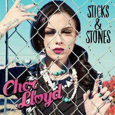 Cher Lloyd's album cover for Sticks & Stones