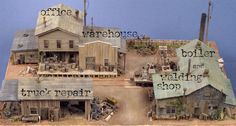 hon3 switches   Sierra West Scale Models HO/HOn3 Kit #204 Railroad Camp (Limited ...