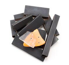 Kat Cole , Black Bundle with Orange Float 2012- steel, found objects, brass