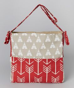Look at this Brownie Gifts Teepee Diaper Bag on #zulily today!