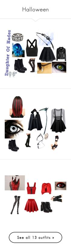 """Halloween"" by cloverrebel ❤ liked on Polyvore featuring Zara, T By Alexander Wang, IRO, BERRICLE, King Baby Studio, Leg Avenue, WearAll, Pierre Mantoux, CristinaEffe and Temperley London"
