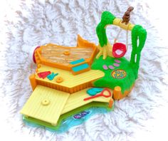 Vintage Polly Pocket Canoe Fun Action Park by CuteVintageToys