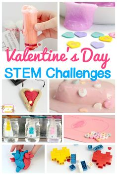 Love STEM? Love Valentine's Day? You'll love this amazing and exhaustive list of Valentines STEM activities for kids of all ages!