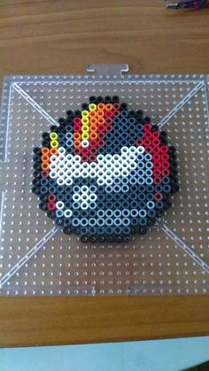 Timer Ball - Pokemon perler beads