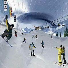 Ski Dubai Most Famous Artificial Snow Park In The World.