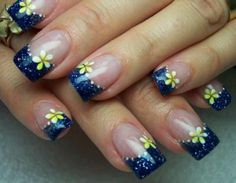 West Virginia Flower Nails