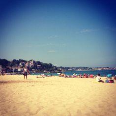 St jean de luz beach