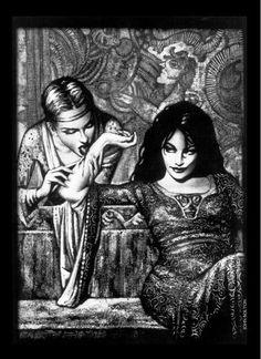 La Mascarada • John Bolton Vampire The Masquerade dark ages | Knights Of The Black Banner: Vampire: The Dark Ages