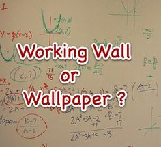 Useful blog with ideas about what to include on working wall