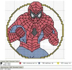 Image result for superheroes cross stitch book