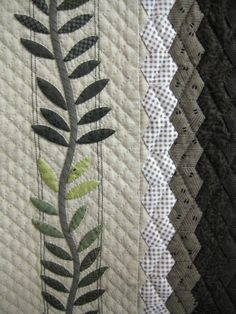 Love this simple border and the muted tones!