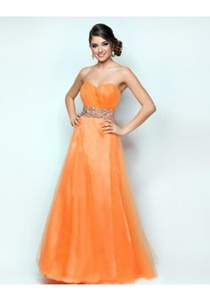 Sweetheart Floor Length Beading Elastic Satin A Line Prom Dress