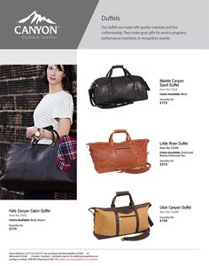 All my Canyon Outback Leather Bags are Packed!