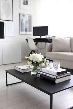 53 coffee table decor ideas that don't require a home stylist