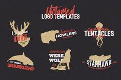 Untamed Logo Templates #badge #template  • Download : http://1.envato.market/c/97450/298927/4662?u=https://elements.envato.com/untamed-logo-templates-JQ5RGH