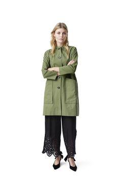 d20ac523 Fabre Cotton Coat, Army Höst Vinter, Vad Ska Man Ha På Sig, Jackor