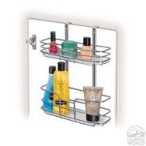 Storage Organizer In The Bathroom Bathstyles Slimline Organizer Pearl Nickel
