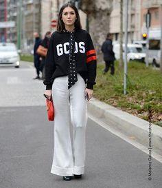 Streetstyles Modewochen Spring 2016 Sweater   FASHION ID Online Shop