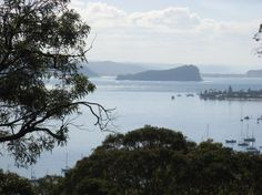 Looking towards Lion Island / An island that is located at the mouth of the Hawkesbury River inside Broken Bay, just beyond Palm Beach, Sydney.