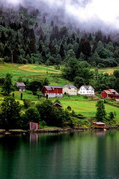 Hardangenfjord, Norway.