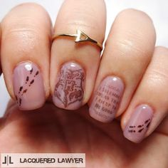 Lacquered Lawyer   Nail Art Blog: Mischief Managed
