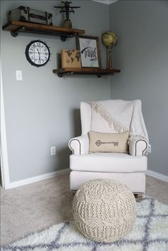 Image result for shiplap airplane nursery