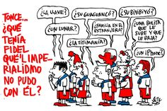 #Cuba: Tonce…, ¿qué tenía Fidel?  Viñeta de #AlenLauzán en #DiariodeCuba