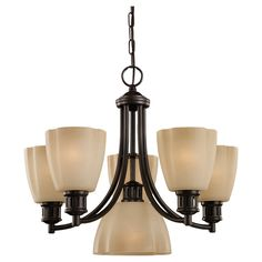 View the Sea Gull Lighting 31476 Six Light Chandelier from Century Collection at Build.com.