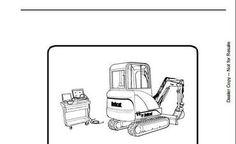 Bobcat 331, 331e, 334 excavator service repair manual
