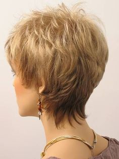 Image result for Short Haircuts for Women Over 50 Back View...