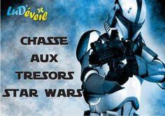 Vous cherchez une chasse aux trésors star wars gratuite ? Venez vite, vous la trouverez chez Lud'éveil, téléchargeable et imprimable gratuitement !