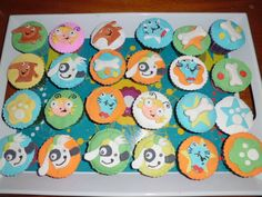 cupcakes variados de DOKI