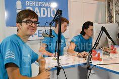 Die Crazy-Dress T-Shirts passten super zum Berufswahlradio.ch-Stand.
