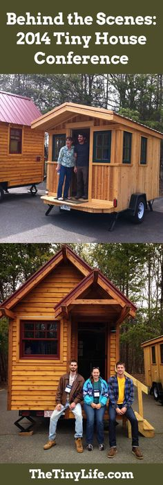 Tour tiny houses at the Tiny House Conference!