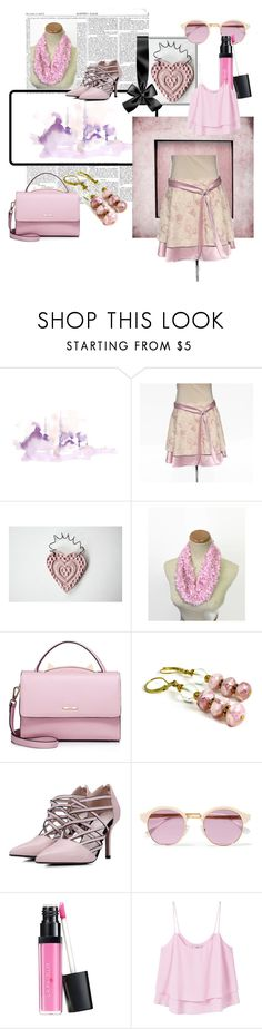 """""""Pink"""" by clschmauder ❤ liked on Polyvore featuring WALL, WithChic, Sheriff&Cherry and MANGO"""