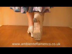 Flamenco Footwork Tutorial - Escobilla Alegrias - YouTube